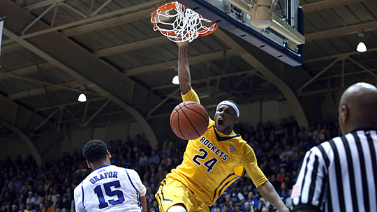 J.D. Weatherspoon amassed 115 dunks during 67 games for Toledo.