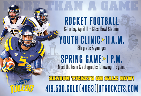 spring football ad for story