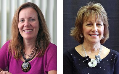 Dr. Isabel Escobar and Susan Parks received the Edith Rathbun Award for Outreach and Engagement.