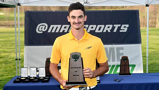 Senior Chris Selfridge was named named Mid-American Conference Men's Golfer of the Year.