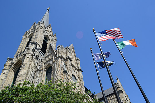 Learn about St. Patrick's Church Thursday, July 16.