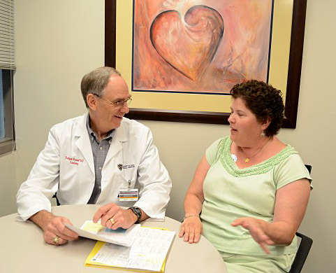Cathy Johns talked with Dr. Dalynn Badenhop.