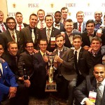 Members of UT's Epsilon Epsilon chapter of Pi Kappa Alpha received the Smythe Award for the second year in a row. The honor is given to the top 10 percent of chapters.