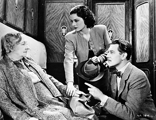 """This still is from Alfred Hitchcock's """"The Lady Vanishes,"""" which will be shown Friday, Sept. 4."""
