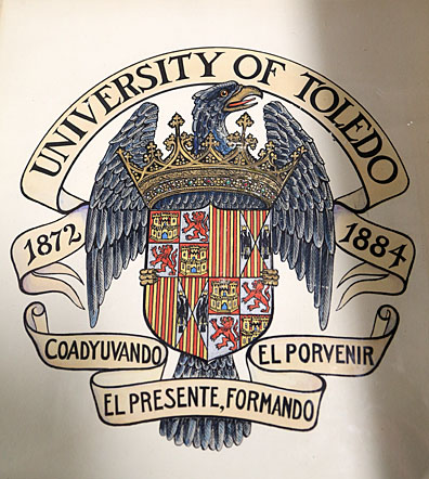 The University of Toledo's original seal
