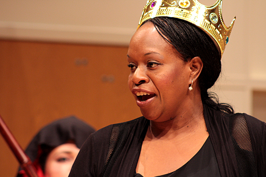 UT alumna Ebone Waweru will be the Queen of the Night.