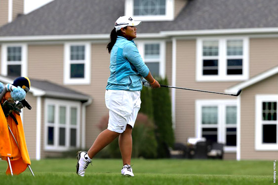 Freshman Pimchanok Kawil shot a team-best 70 in the final round.