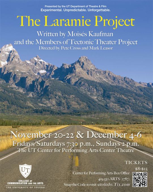 """laramie project reaction """"the laramie project,"""" about the killing of a gay man, matthew shepard, in wyoming in 1998, returns to new york with the city premiere of the cycle's."""