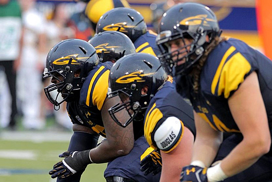 Toledo's offensive line has allowed just two sacks this season in nine games.