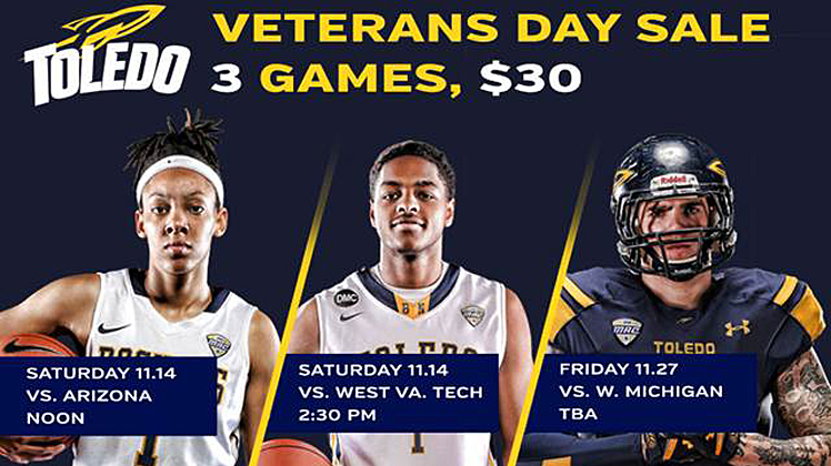 veterans day sports tix special