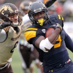 Kareem Hunt rushed for 139 yards and two touchdowns as the Rockets lost to Western Michigan.