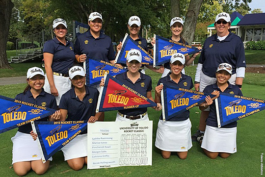 It's been a banner fall season for the women's golf team.