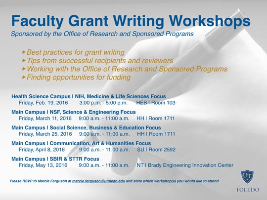 grant writing conference Research development and grant writing several of which are conducted at rsna's modern and comfortable conference methodology and grant-writing.