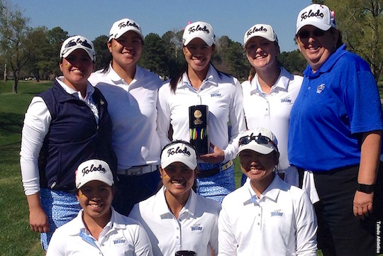 The women's golf team won its fifth tournament of the season Tuesday in Virginia.
