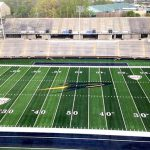 The new FieldTurf playing surface was completed last week.