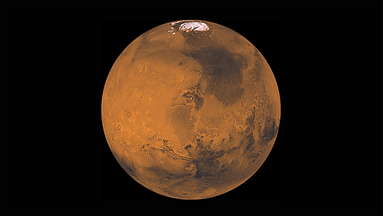 The public is invited to view Mars, seen here in this image from NASA, at UT's Brooks Observatory Tuesday through Thursday, May 31-June 2.