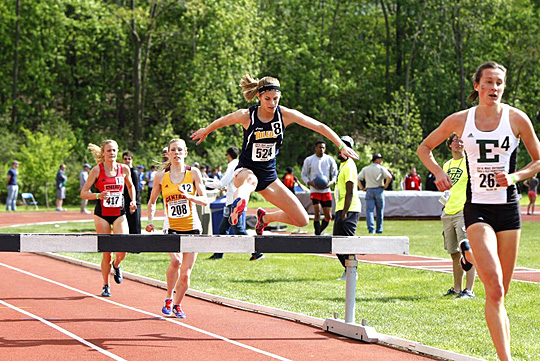 Liz Weiler will run in the 3,000m steeplechase at the NCAA Outdoor Track & Field Championships.