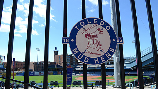 Visit the home of the Toledo Mud Hens Thursday, July 14, on the downtown walking tour sponsored by the UT Jack Ford Urban Affairs Center and the Toledo-Lucas County Public Library.