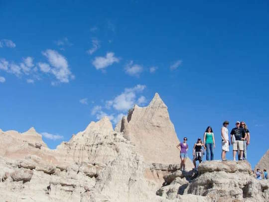 Angela Williams, a UT junior majoring in geology, submitted this photo from a previous UT geology class trip to Badlands National Park in South Dakota. She is excited for this year's trip.