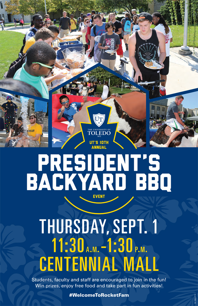campus community invited to president s backyard barbecue