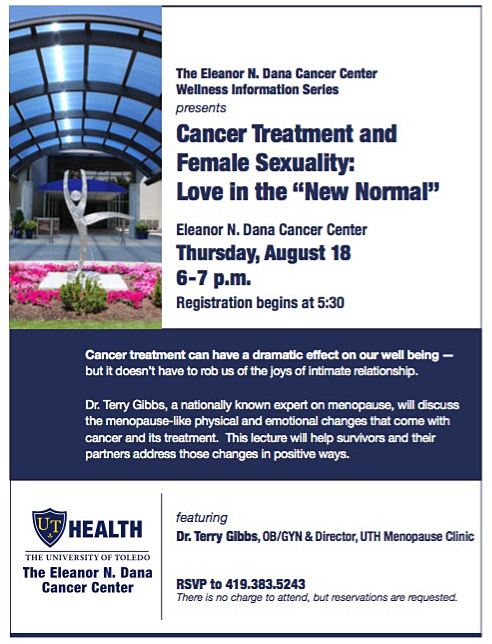 web Cancer and Sexuality event