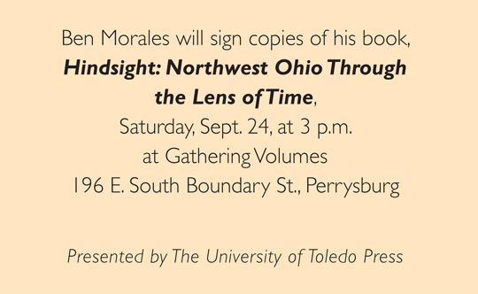 Morales book signing box