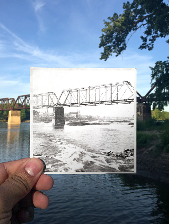 Toledo, Lake Erie and Western Railroad Bridge over the Maumee River