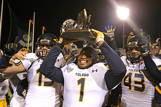 The Rockets will try to claim the Battle of I-75 Trophy for the seventh straight season this Saturday.