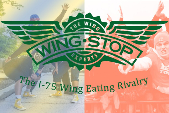 wing-eating contest