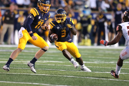 Logan Woodside, left, and Kareem Hunt will lead the Rockets' offense in the MAC West Division showdown Friday, Nov. 25, at Western Michigan.