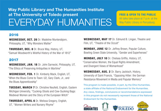 everyday humanities lecture series