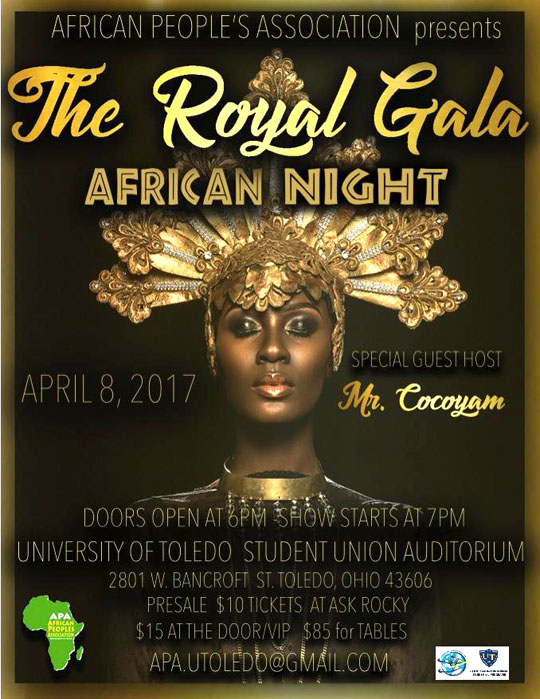 African Night Poster