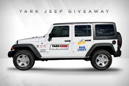 Jeep Wrangler Lease >> Utoledo News Blog Archive Rockets Giving Away Lease On