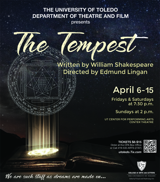 Ut News Blog Archive Ut To Stage Shakespeares The Tempest As