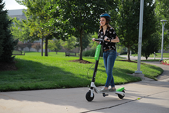 Ut News Blog Archive Ut To Launch Electric Scooter Sharing On Campus