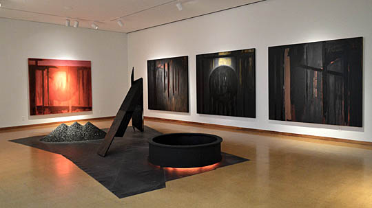 """An exhibition titled """"Black Noise"""" by Holly Branster will open Thursday, Jan. 14, with a reception at 6 p.m. in the Center for the Visual Arts Gallery on UT's Toledo Museum of Art Campus."""