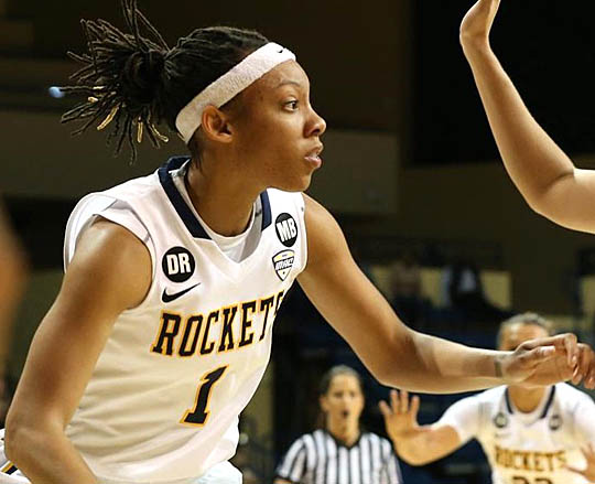 Brenae Harris and the Rockets will have several games televised this season.