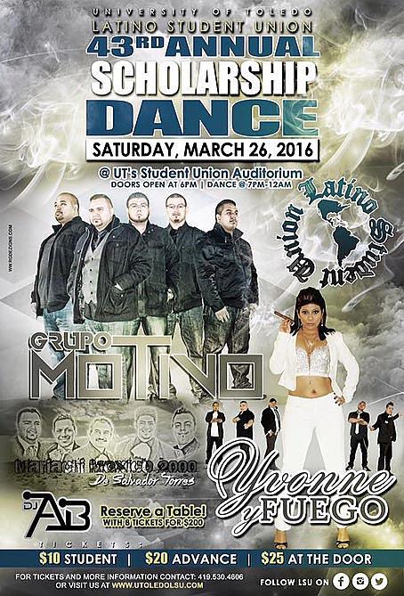 latino dance poster 2016