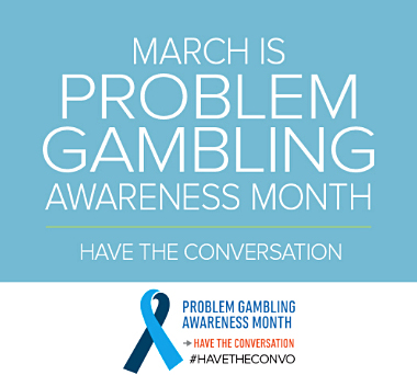 march is gambling awareness month