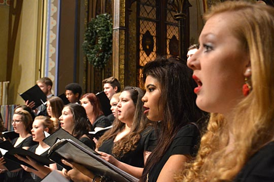 The UT Concert Chorale will take the stage of Doermann Theater Thursday, March 17.