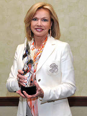 Marianne Ballas, a longtime UT benefactor, received the Ashel Bryan Distinguished Service Award.
