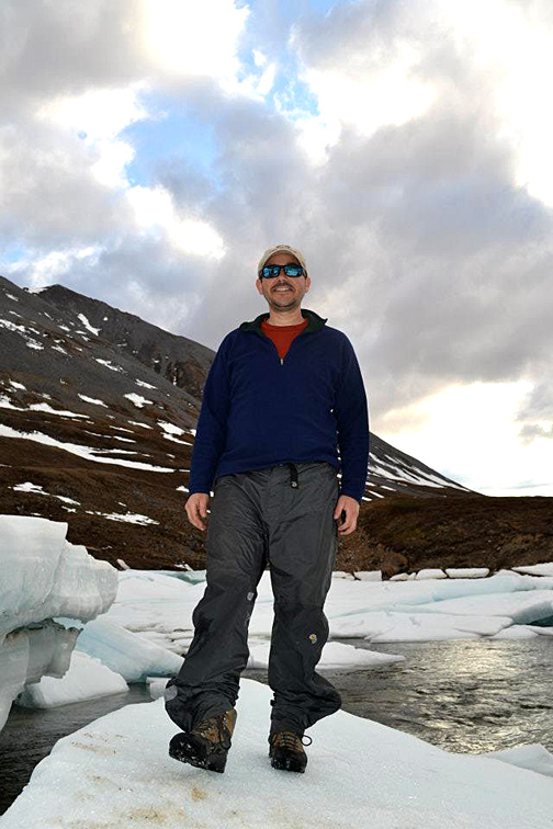 Dr. Michael Weintraub, shown here near the Toolik Field Station in Alaska where he conducts research, has received a lot of press on a paper on pastures that he co-wrote with Lindsey Slaughter of the University of Kentucky.