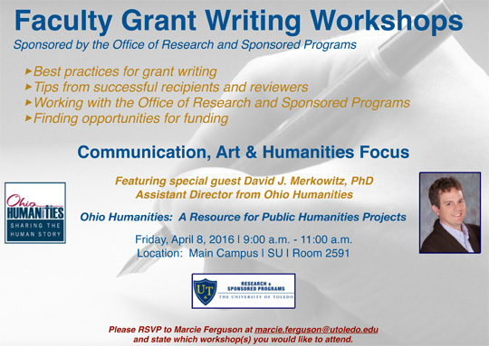Faculty Workshop Announcement