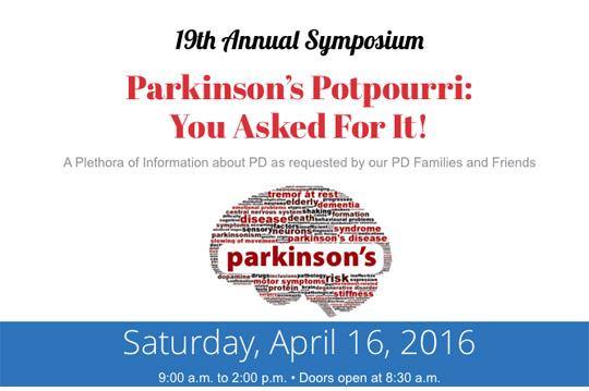 parkinsons 2016 symposium