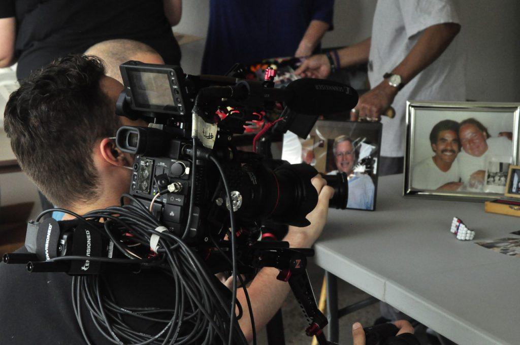 Gabriel Kovach filming