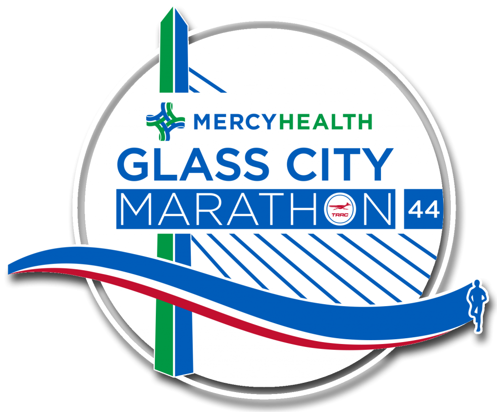 2021 Glass City Marathon Logo